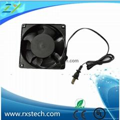 large air flow 12038 240v dc/ac cooling fan