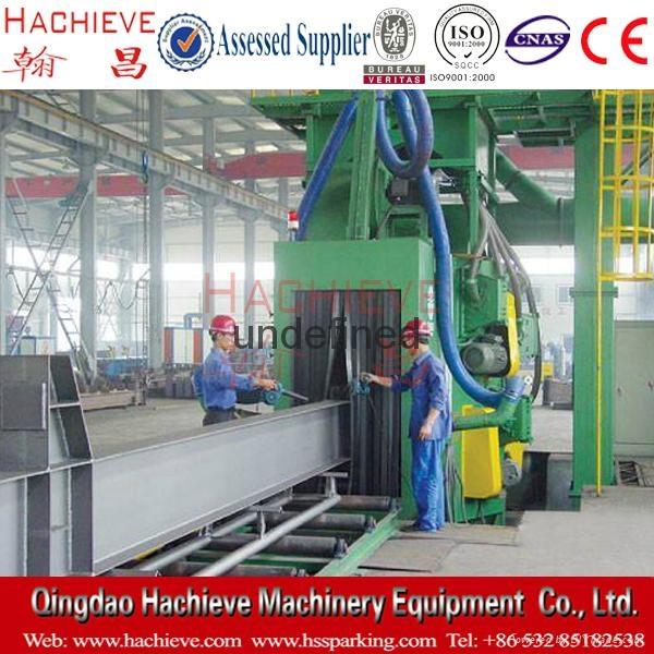 H beam shot blasting Cleaning machines, heavy machinery services 4