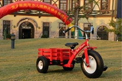 kid tricycle with trailer kid  good present