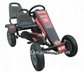 Jeep two seats pedal go karts 3
