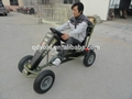 Jeep two seats pedal go karts 5