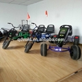 Double seats adult kids pedal go karts 4