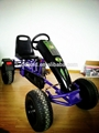 Double seats adult kids pedal go karts