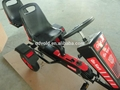 Jeep two seats pedal go karts for kids and adults 3