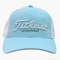 New 100% Cotton baseball Golf Casual Embroidery Color Hat Cap