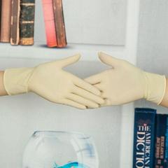 搶購一次性9寸短款乳膠檢查手套