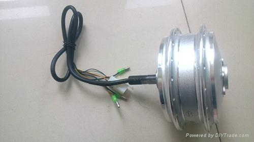 Brushless dc motor single side shaft electric wheelchair for Add electric motor to drive shaft