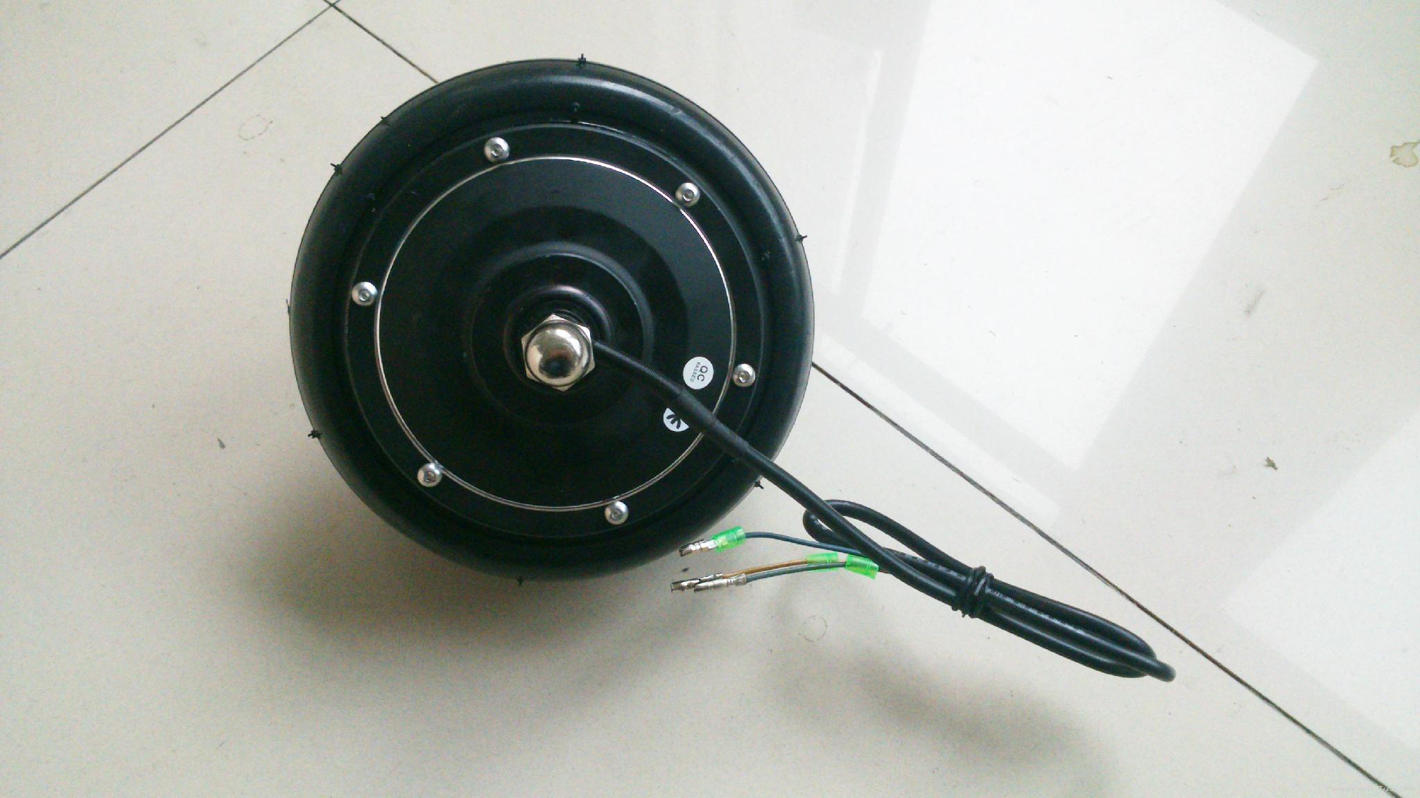 6 Inch Brushless Gearless Hub Motor Scooter Motor Lijiu