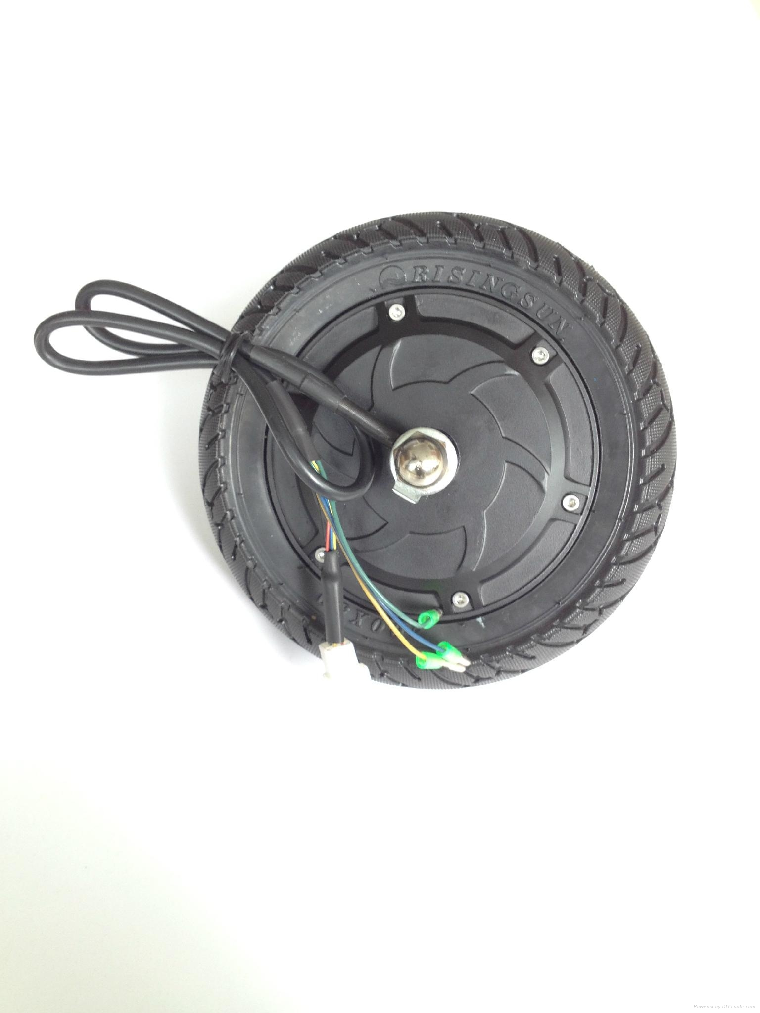 8 inch brushless gearless electric scooter hub motor dc for Electric scooter brushless motor