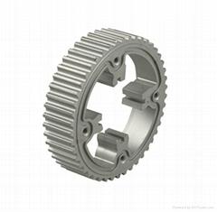 Belt pulley sinter auto parts made by powder metallurgy