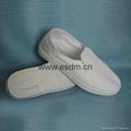 防靜電導電絲面鞋