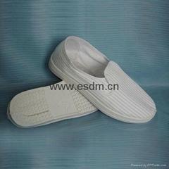 防静电导电丝面鞋