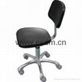 防靜電聚氨酯矮椅 2# 灰色腳