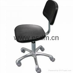 防静电聚氨酯矮椅 2# 灰色脚轮