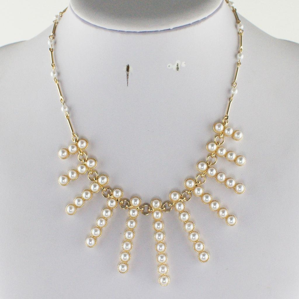 Everlasting fashion pearl necklace 4
