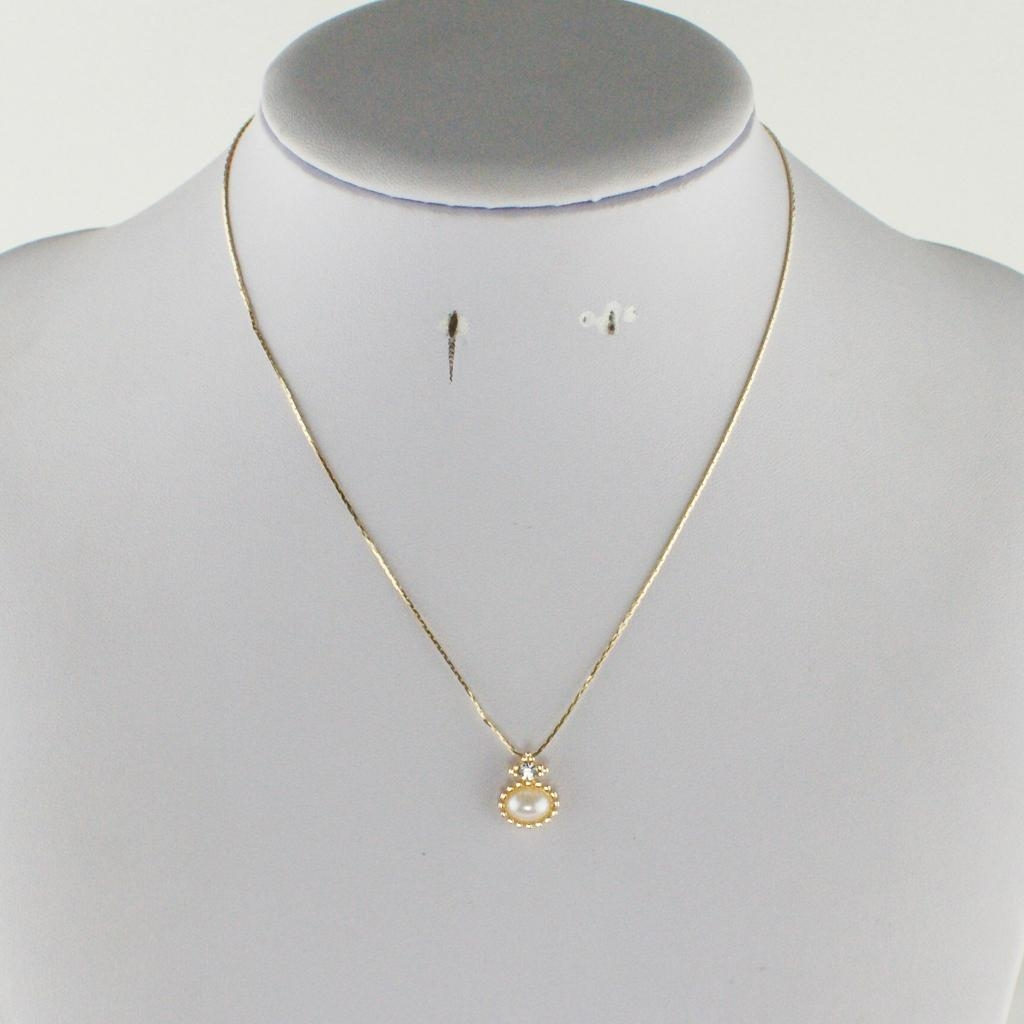 Everlasting fashion pearl necklace 3