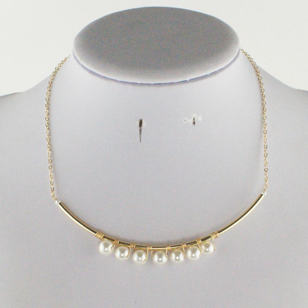 Everlasting fashion pearl necklace 1
