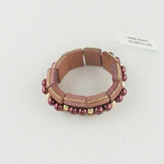 wood style bracelet