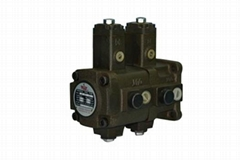 Hydraulic Variable Displacement Vane Pump-Double type