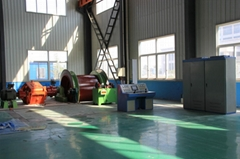 PLC controlled electric mine hoists for sale