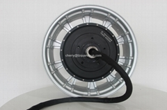 Super 17inch 12kw water oil cooling motor for electric scooter