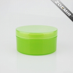 Cylinder Cosmetics Plastic Natural Gel Bottle Lotion Bottle Face Cream Jar