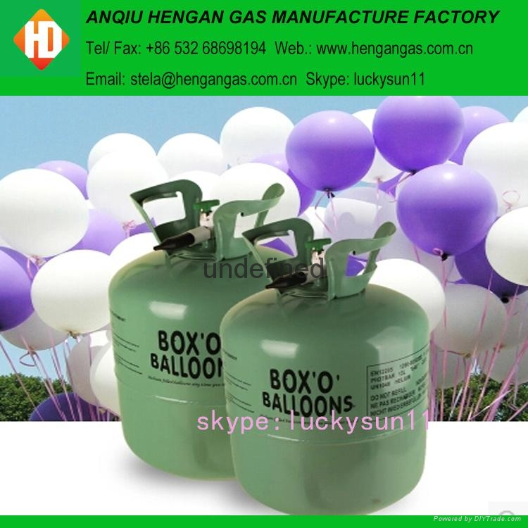 disposable helium gas 4