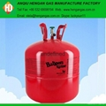 Balloon helium gas