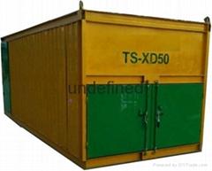 Ts-Xd50 Organic Fertilizer Windrow Compost Turner