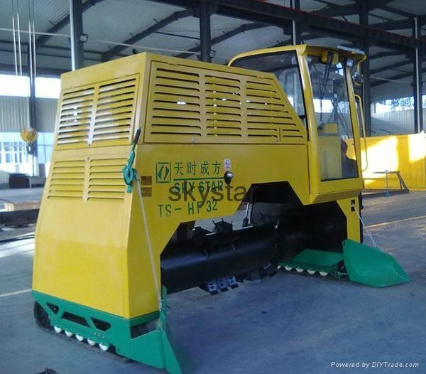 HF-32 Organic Waste Compost Turning Machine 1