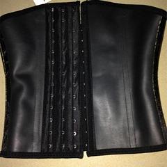 2015 New design wholesale rubber latex waist cincher