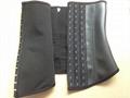 2015 New design wholesale rubber latex waist cincher  2