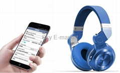 57mm Dymanic Transducer Multifunction Foldable  Bluetooth Wireless Headphone