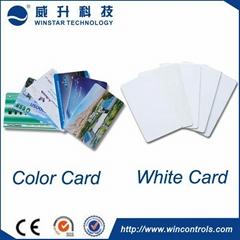 Long range UHF RFID PVC card