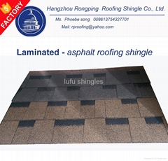 colorful cheap roofing shingle (asphalt) for wooden roofs