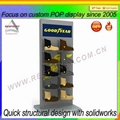 New products customized floor standing display rack 4