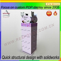 New products customized floor standing display rack