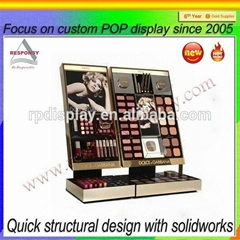Customized OEM & ODM floor cosmetic display stand