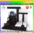 Customized clear acrylic countertop fashion watch display stand 5