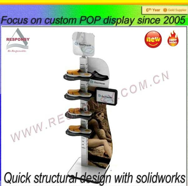 Manufacturer wholesale shoes shop display stand 2