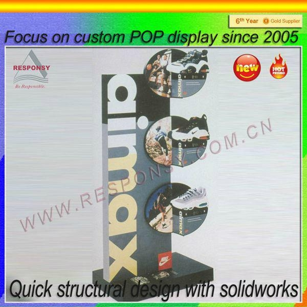 Manufacturer wholesale shoes shop display stand 4