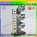 Professional factory manufacturer clear acrylic shoe display stand 5