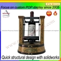 New product metal wine display bottle display stand 4