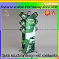 New product metal wine display bottle display stand 3