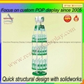 New product metal wine display bottle display stand 2