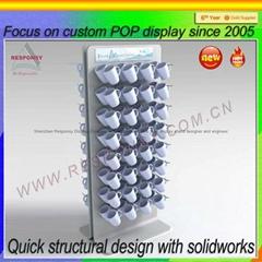 Custom Direct Supply Coffee Cup Display Rack