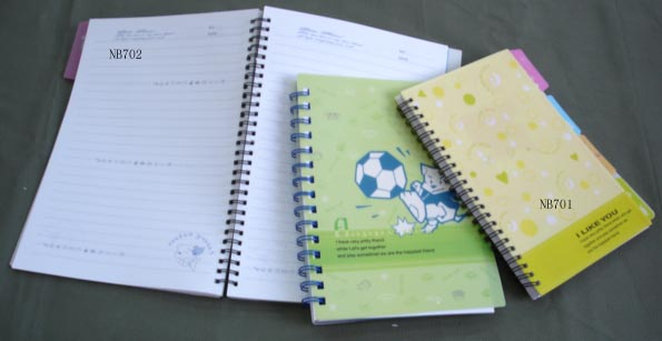 Note book with pp cover 1