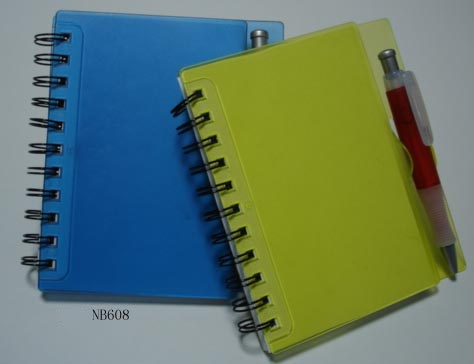 Note book with pen 1