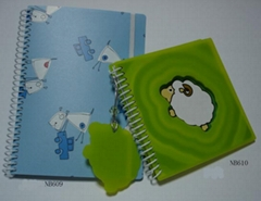 Note Book With Tag