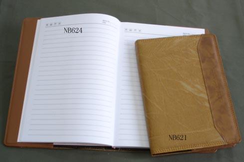 Note book with PU cover 1